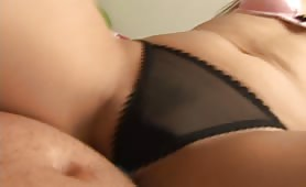 POV lapdance in panties and bra