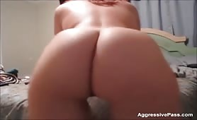Cute curvy amateur shaking  her PAWG ass