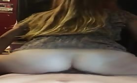 Twerking on my big dick
